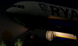 Ryanair Livery | PMP a330-300 [8K] Image Flight Simulator 2020