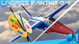 Dassault Alpha Jet Paintkit  Image Flight Simulator 2020