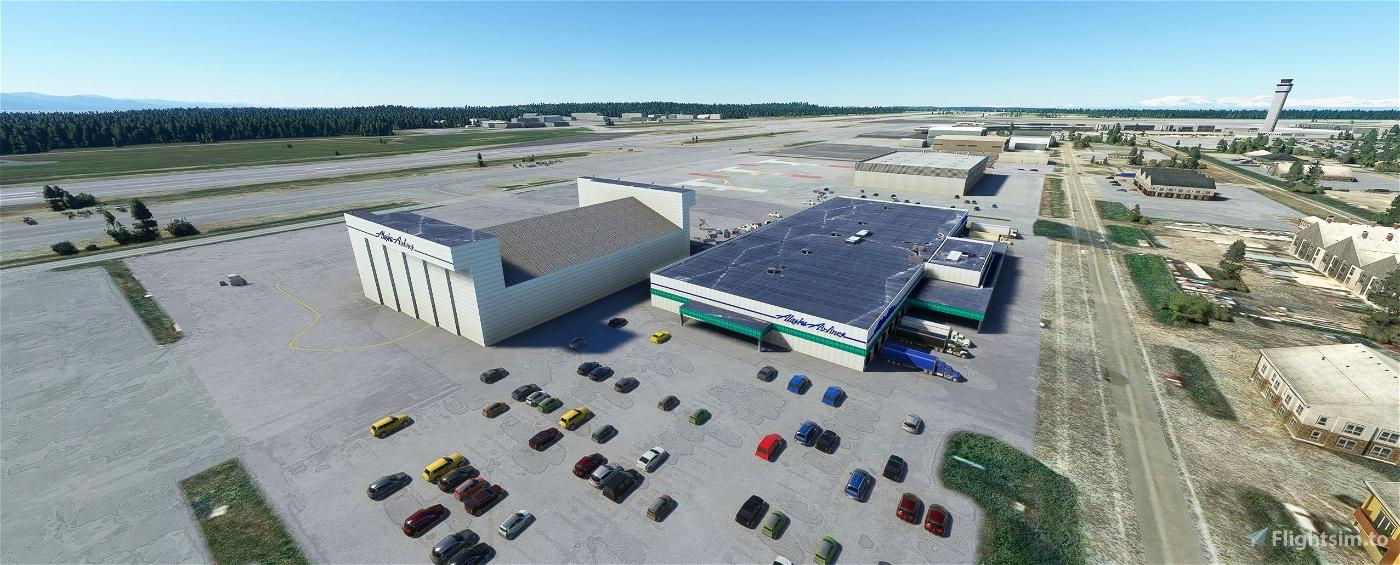 Ted Stevens Anchorage International Airport, Anchorage AK USA - PANC V1.2