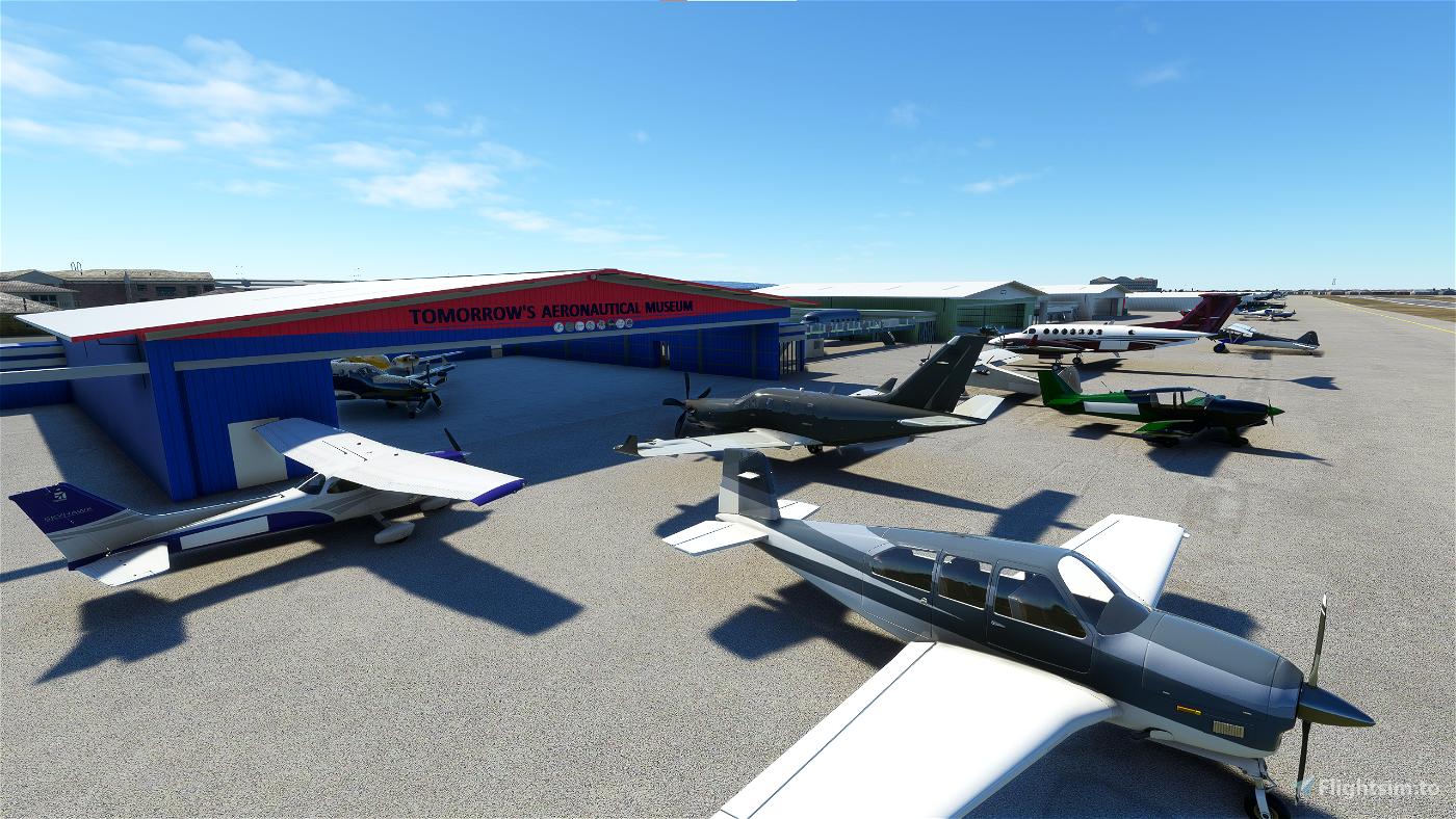 Compton/Woodley Airport (KCPM) Flight Simulator 2020