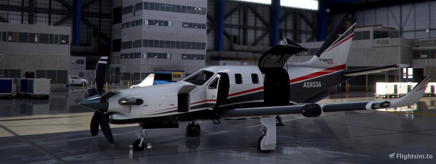 TBM930 Improvement Mod Flight Simulator 2020