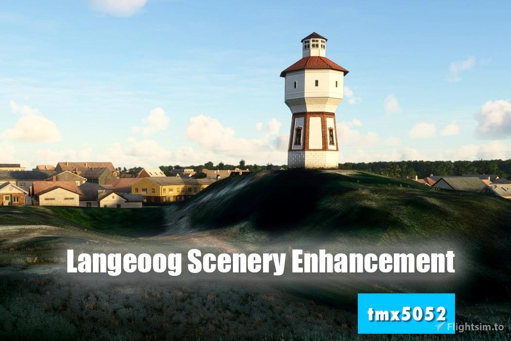 Langeoog Scenery Enhancement Flight Simulator 2020