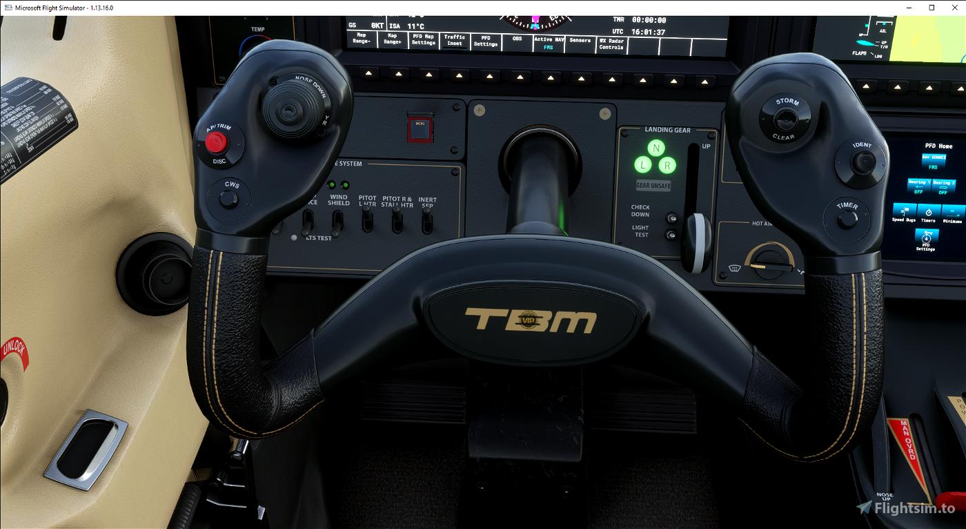 Livrée TBM 930 Templar Express VIP