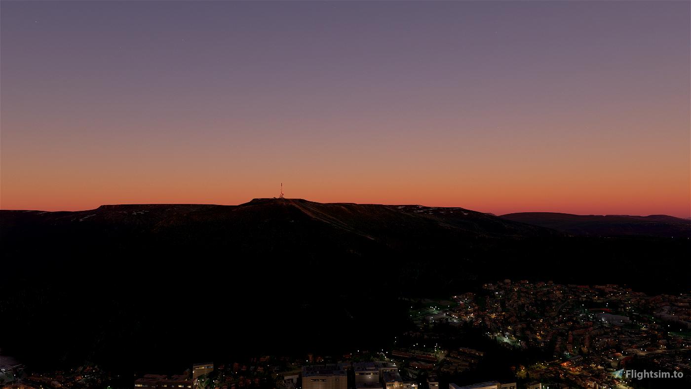 Bergen features Flight Simulator 2020
