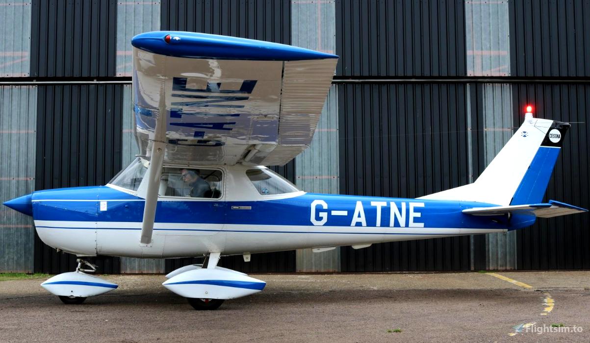 Cessna 152 G-ATNE Flight Simulator 2020