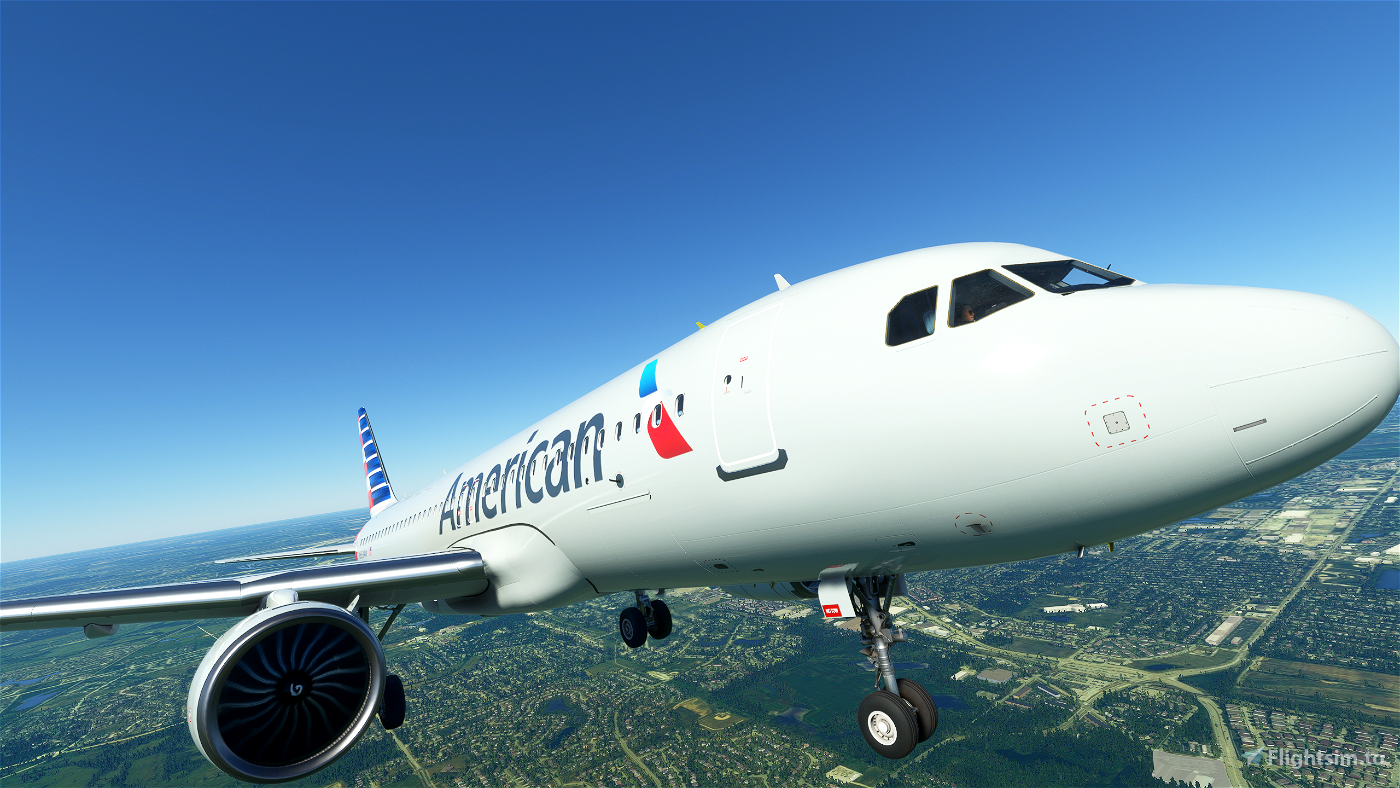 A320 Neo American Airlines [ULTRA] Flight Simulator 2020