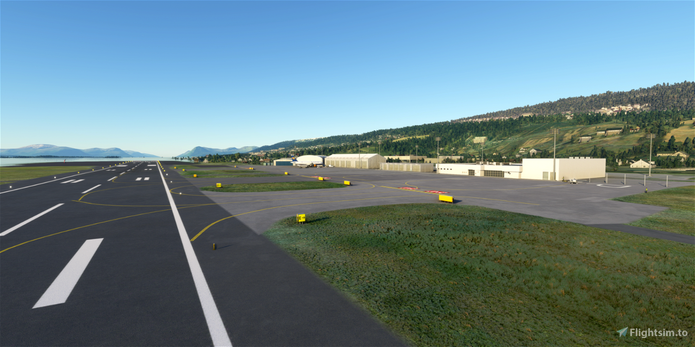 ENML Molde airport, Årø (Aro) Flight Simulator 2020
