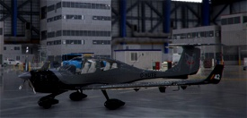 Un-Official Transportes Coyote DA40NG for The SkyPark. Image Flight Simulator 2020
