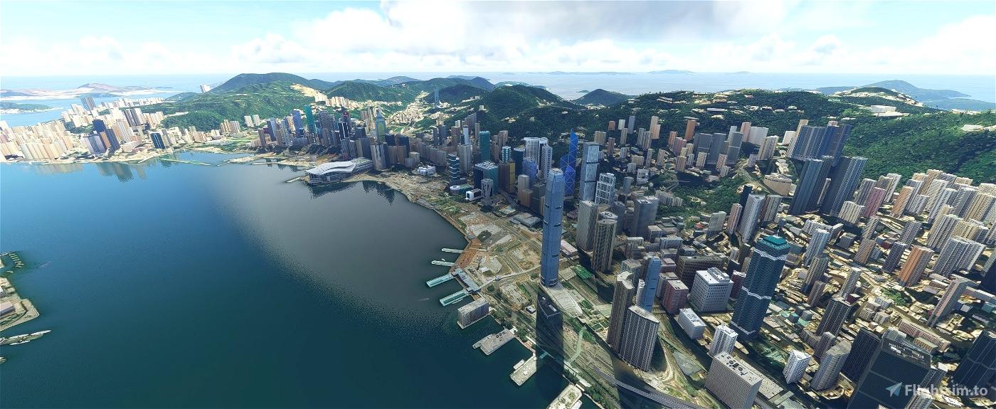 Hong Kong V1.10.1 Flight Simulator 2020