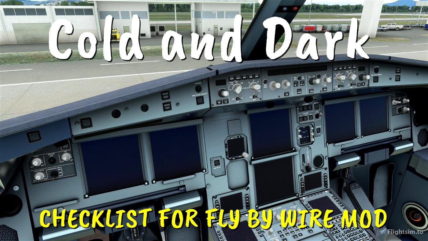 CHEKLIST FLY BY WIRE A320neo Flight Simulator 2020