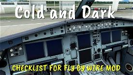 CHEKLIST FLY BY WIRE A320neo Image Flight Simulator 2020