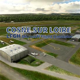 Cosne-sur-Loire (LFGH) Image Flight Simulator 2020
