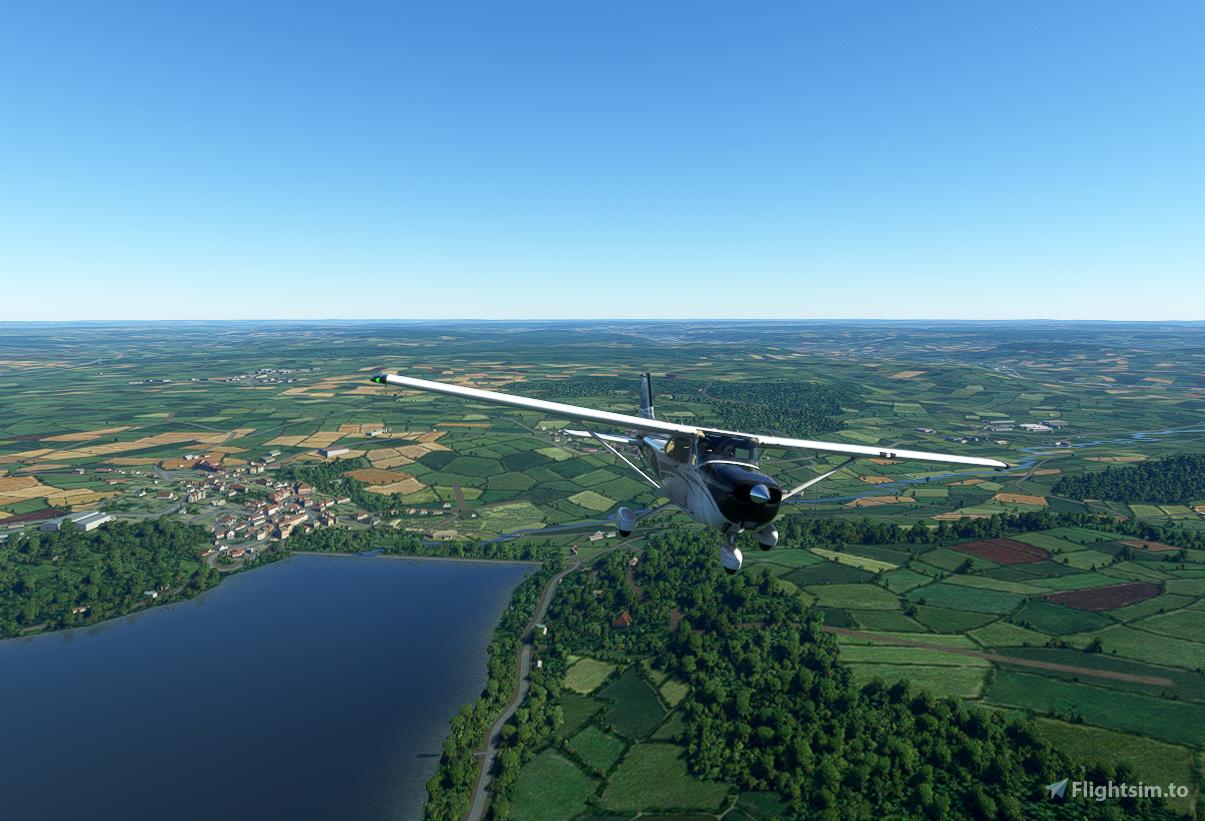Via Francigena.  An ancient pilgrims route Flight Simulator 2020