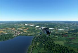 Via Francigena.  An ancient pilgrims route Image Flight Simulator 2020