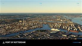 Port of Rotterdam Image Flight Simulator 2020