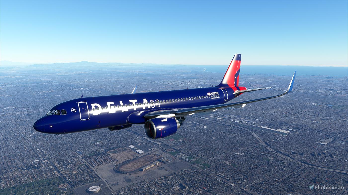 Delta Air A320 Neo - 8K Flight Simulator 2020