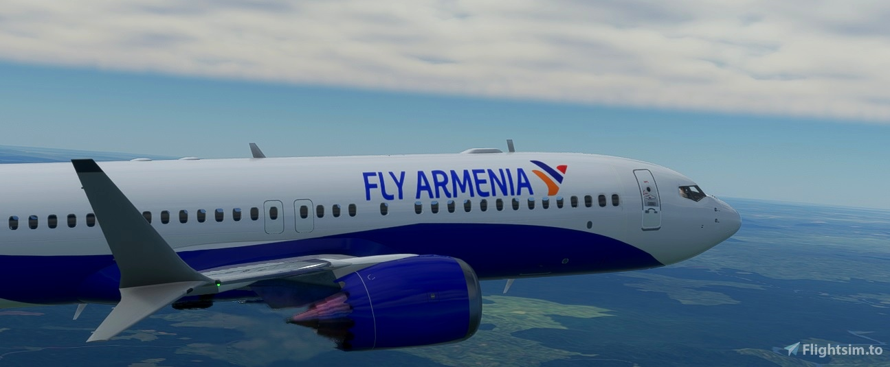 ARMENIA 737 FLY Flight Simulator 2020