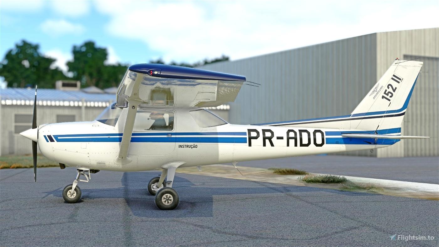 C152 - Aeroclube de Jundiaí - PR-ADO Livery 4K