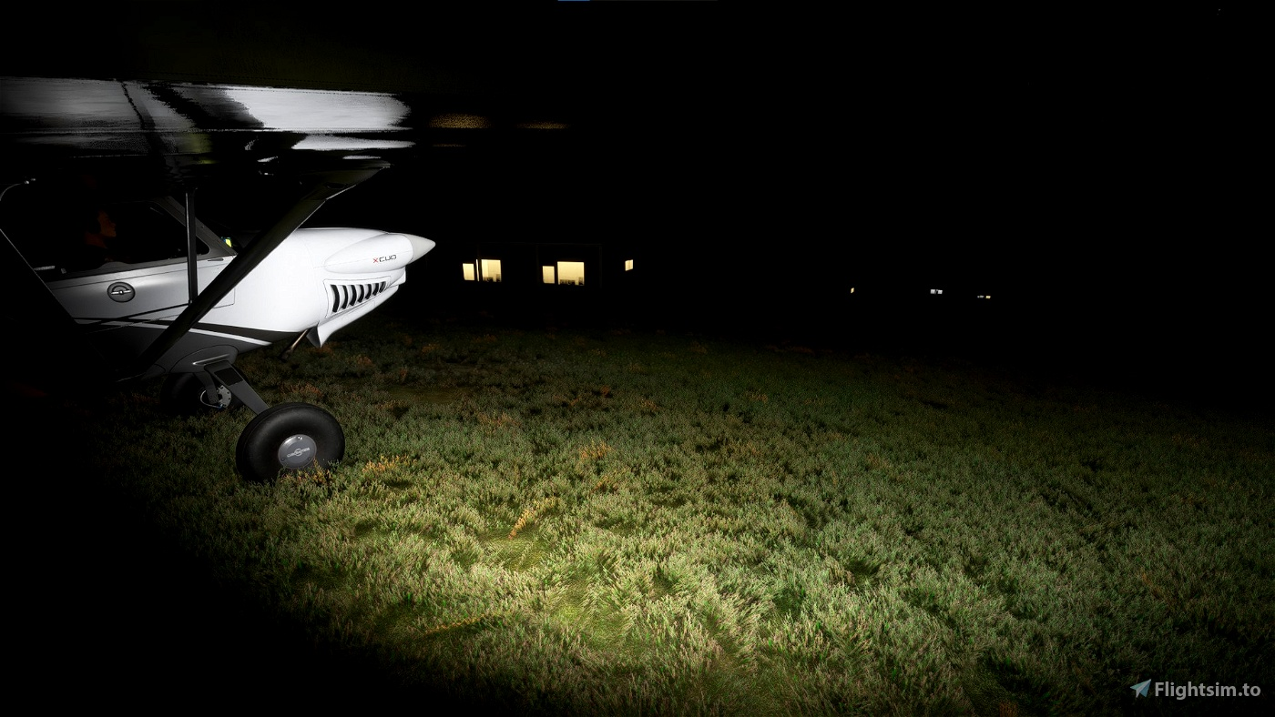 New Guinea Night Flight  Flight Simulator 2020
