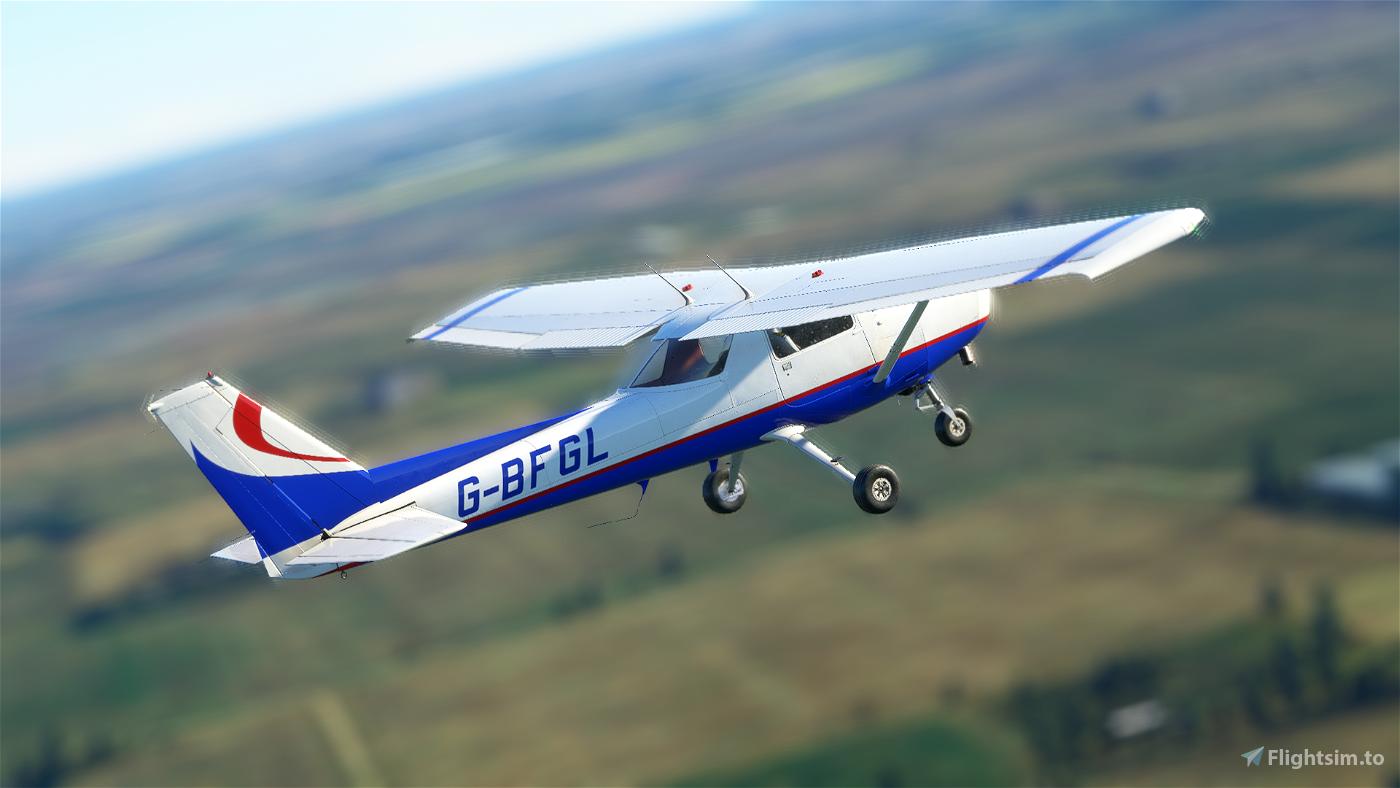 Cessna 152 G-BFGL [4K Textures] Flight Simulator 2020