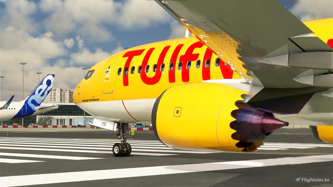 Bredok's 737 Max | TUI Airways (Yellow)