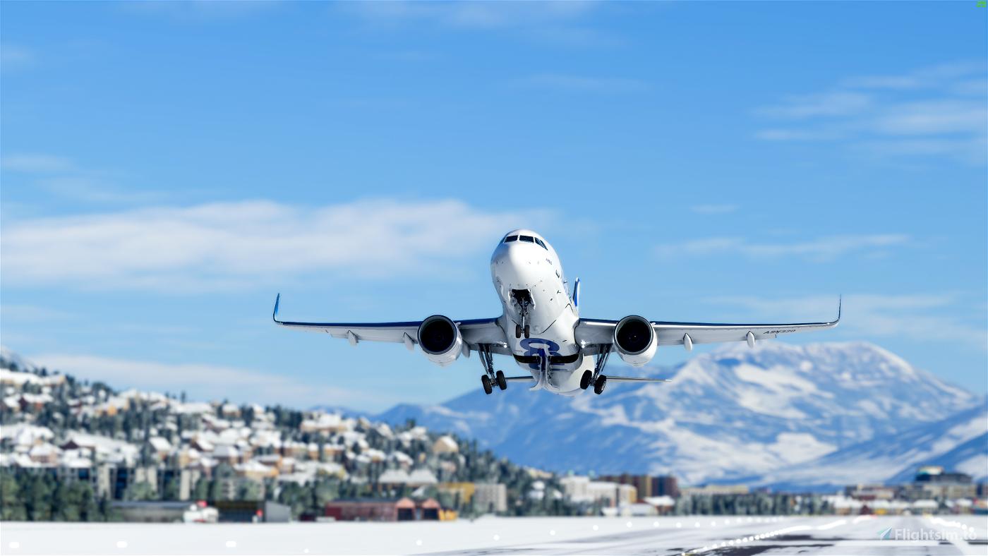 FlyByWire A32NX Flight Simulator 2020