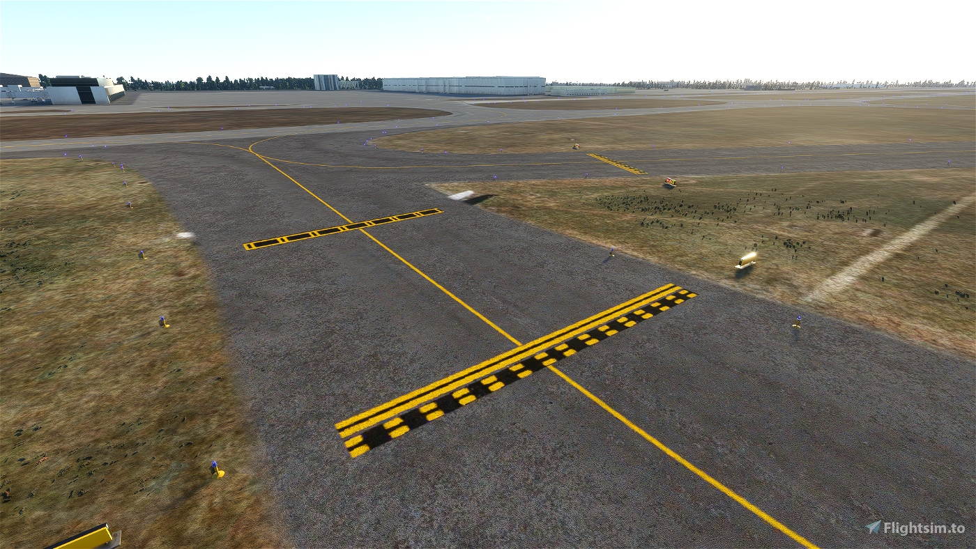 Very Simple Enhanced Airport Ground Texture