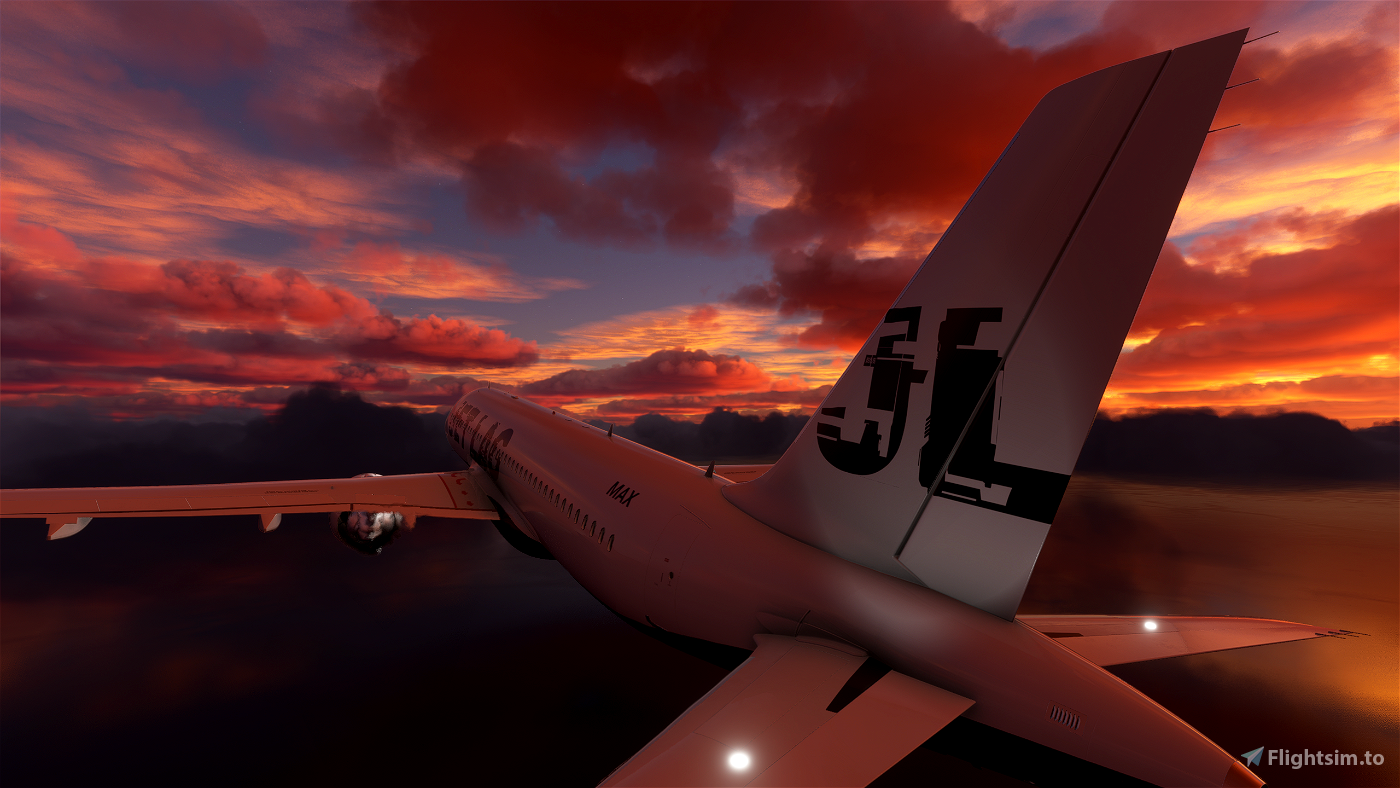 Jet-Lag A320 8K Flight Simulator 2020