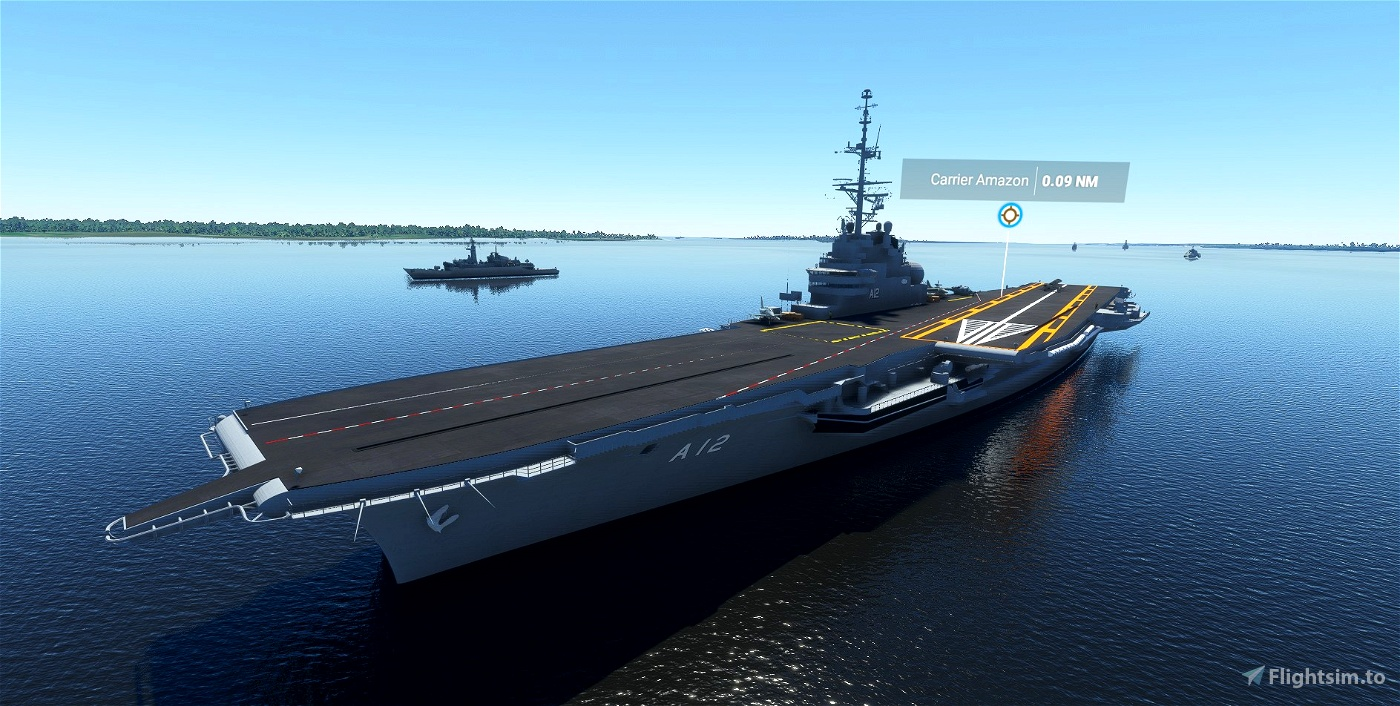 Aircraft Carrier Group - Worldwide Locations
