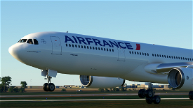 [8K] Air France 2.0 - PMP A330-300 Image Flight Simulator 2020