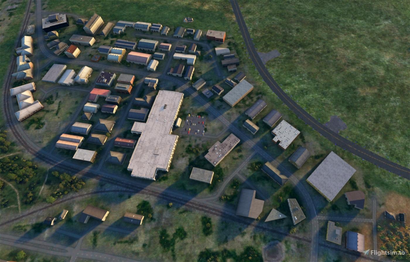Scenery Enhancement Sylt (EDXW) Flight Simulator 2020