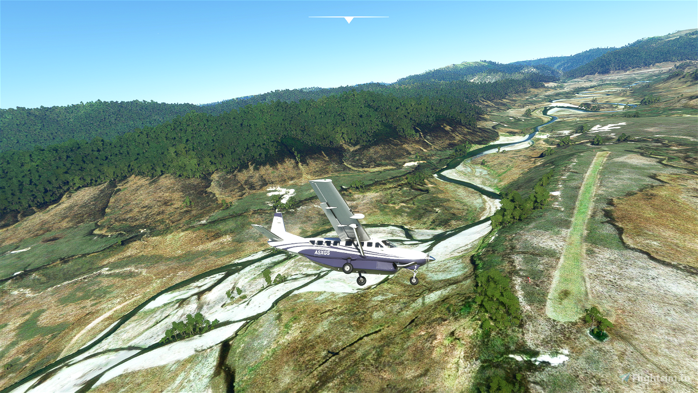 Boyds Hut Airstrip - Hawkes Bay, New Zealand Flight Simulator 2020