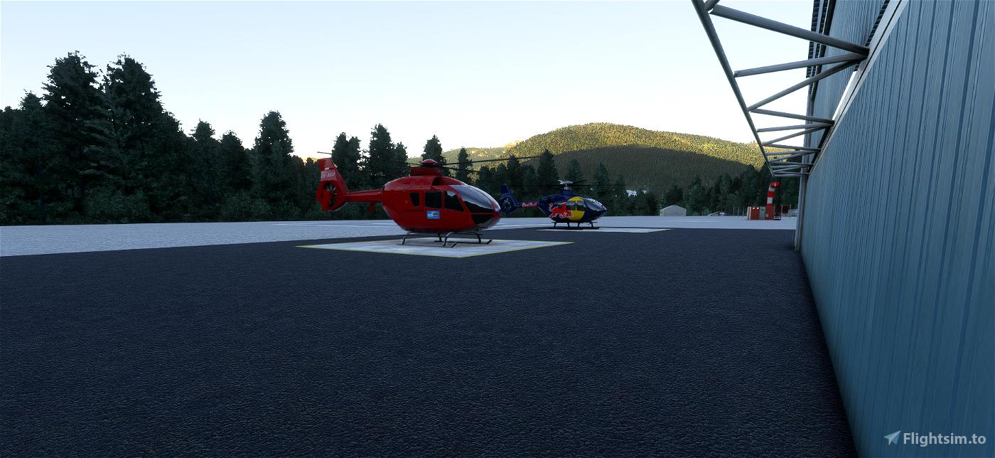 Whistler Blackcomb Heliport & Whistler Hospital Helipad - CBE9 & CAW4