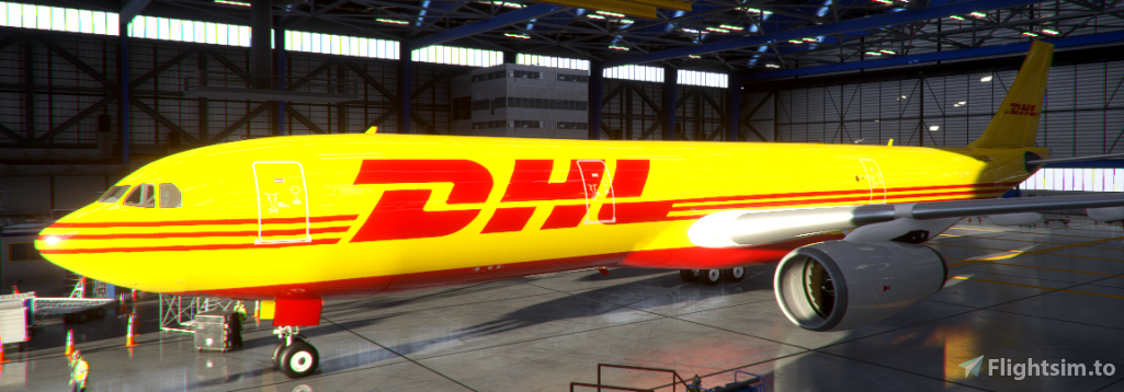 [8K] DHL - PMP A330-300 Flight Simulator 2020