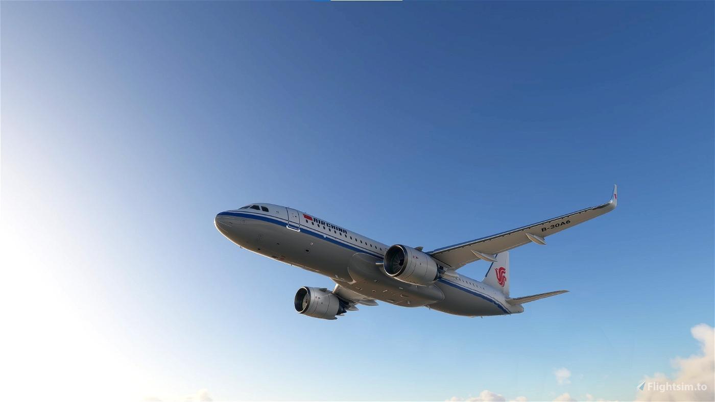 8K A320neo Air China B-30A6