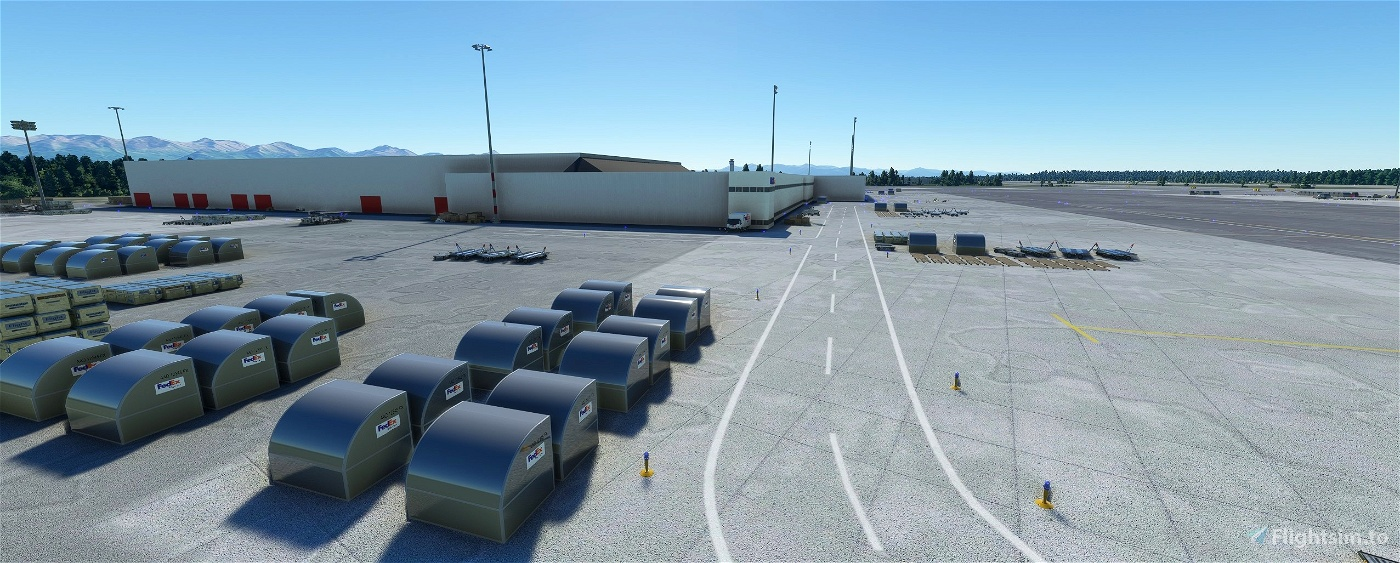 Ted Stevens Anchorage International Airport, Anchorage AK USA - PANC V1.2 Flight Simulator 2020