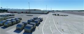 Ted Stevens Anchorage International Airport, Anchorage AK USA - PANC V1.2 Image Flight Simulator 2020
