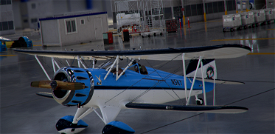 Carenado WACO YMF-5 in the SkyLounge colours Image Flight Simulator 2020