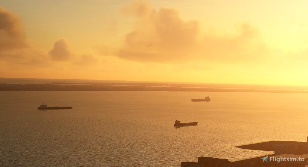 Global AI Ship Traffic MSFS V1