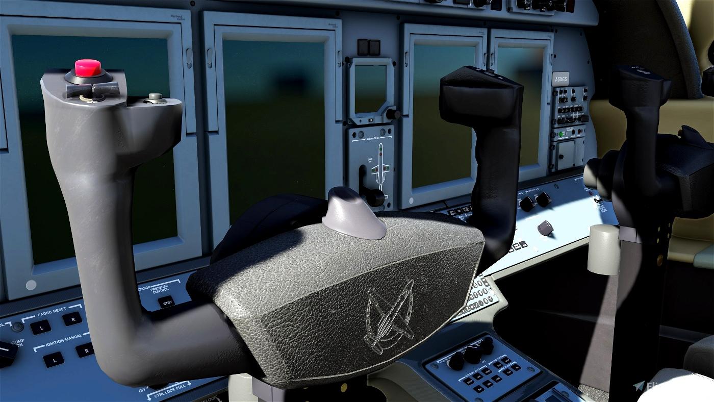 CJ4 Cockpit Texture Mod Flight Simulator 2020