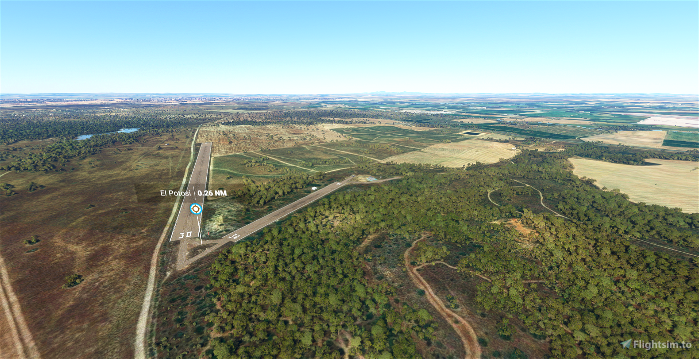 Aeródromo El Potosí LEZ1 Flight Simulator 2020
