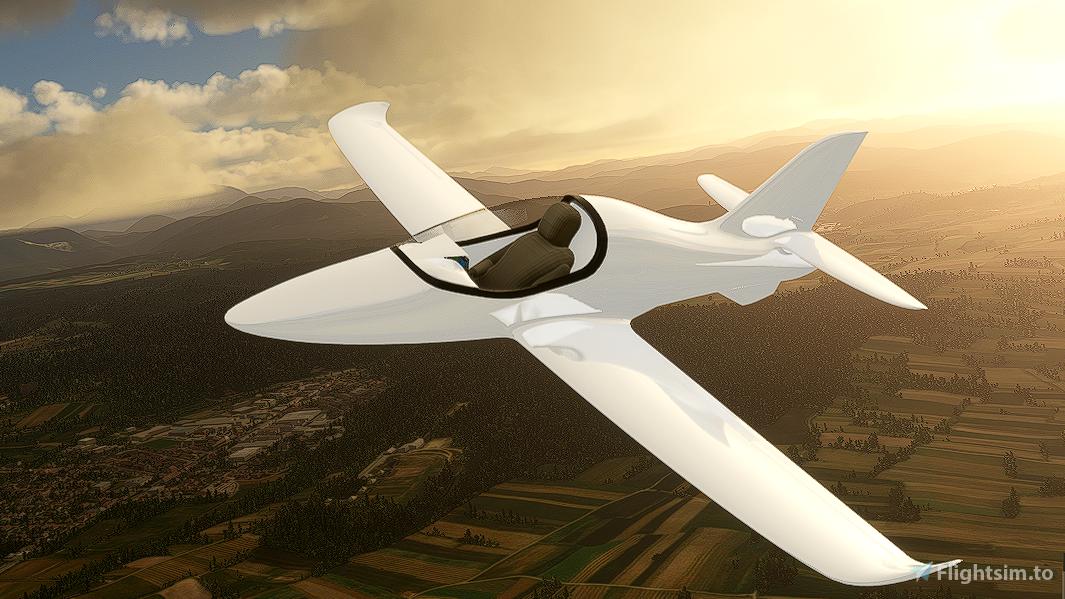 Beast One Microjet Flight Simulator 2020