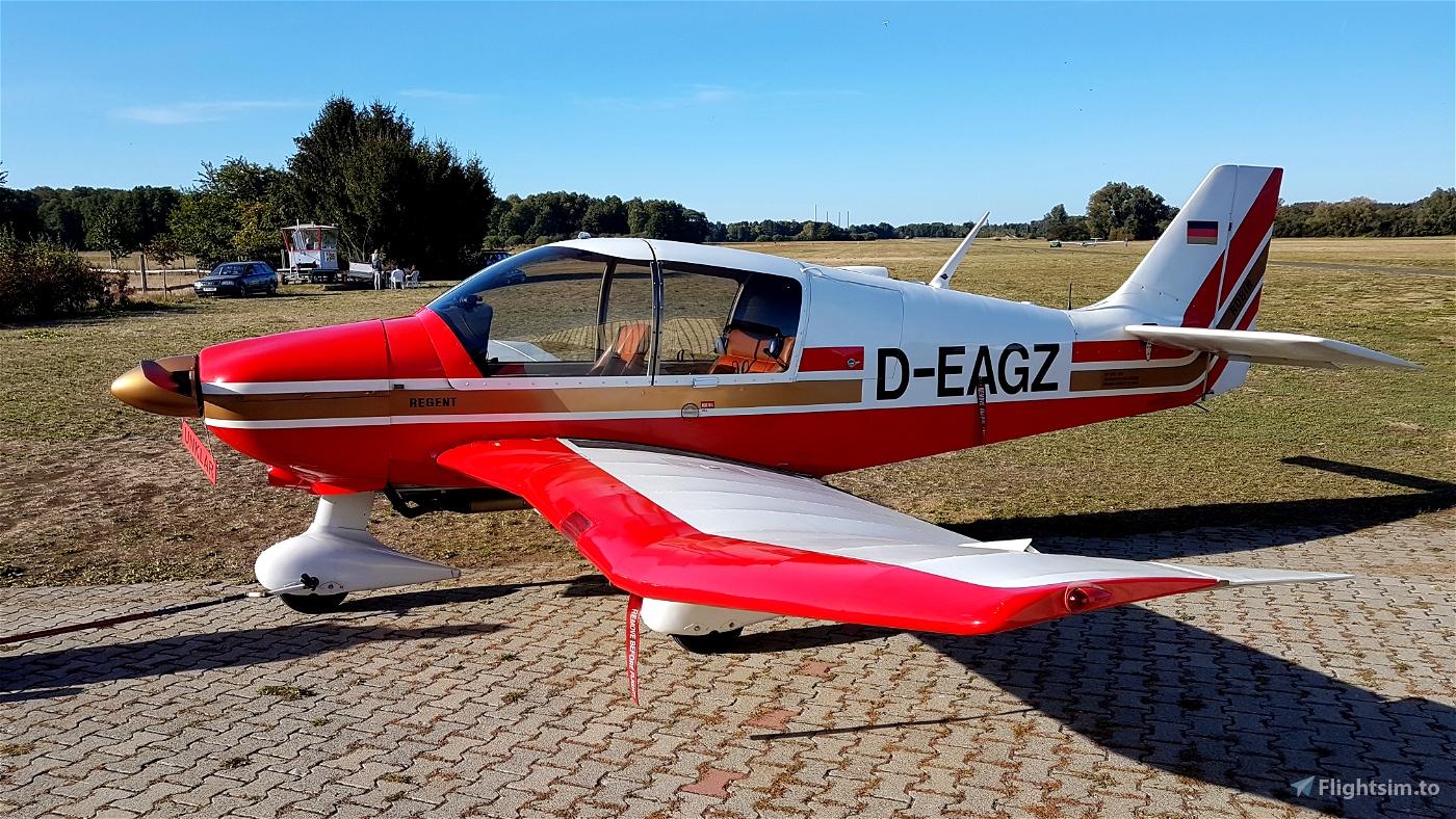 Robin DR400-180 Régent Mod (Standalone aircraft)