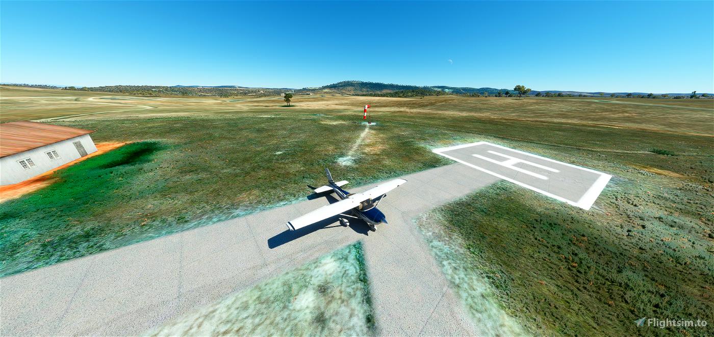 Helipuerto de Valencia de Alcantara LEIA Flight Simulator 2020