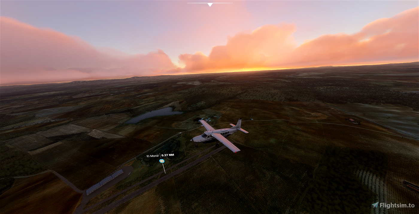 Aeródromo El Moral LEOA Flight Simulator 2020
