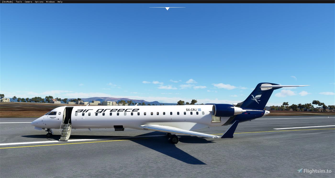 Aerosoft CRJ 550 Air Greece Livery Flight Simulator 2020