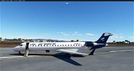 Aerosoft CRJ 550 Air Greece Livery Image Flight Simulator 2020