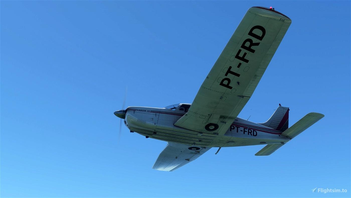 JustFlight PA28R Arrow III - Little NavMap Performance Profile Flight Simulator 2020
