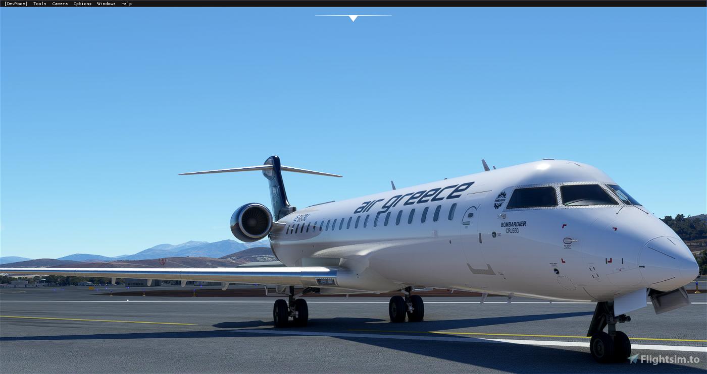Aerosoft CRJ 550 Air Greece Livery