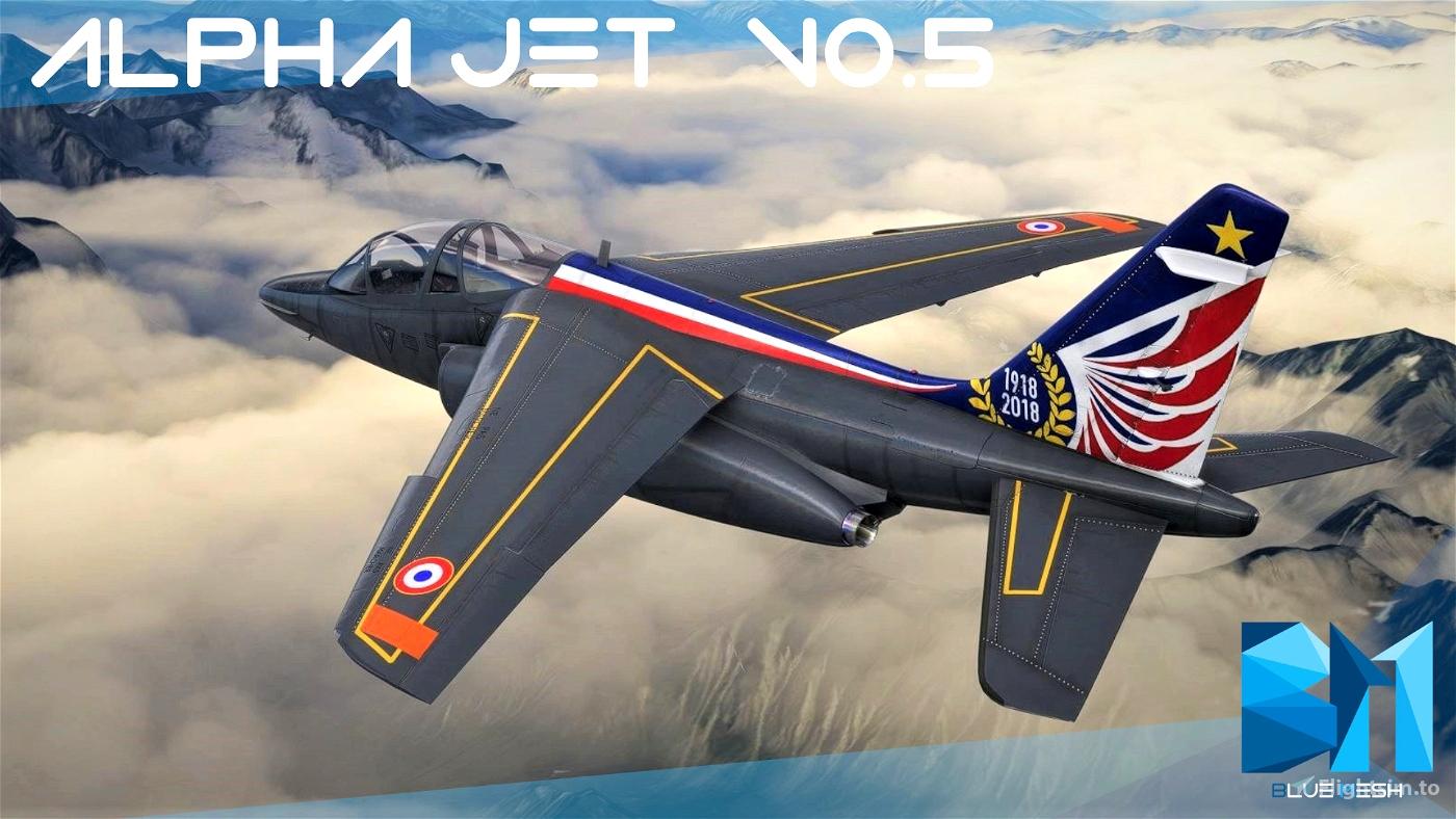 Dassault Dornier Alpha Jet [WIP VERSION 0.5.1 ] Flight Simulator 2020